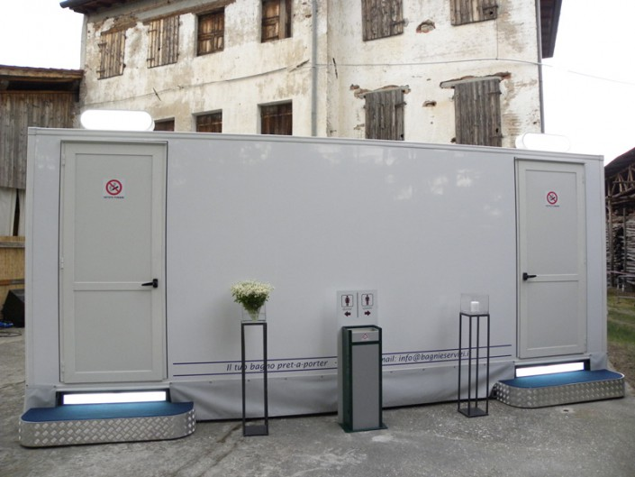 Vicenza noleggio bagni di lusso chimici per cerimonie - Bagni chimici vicenza ...