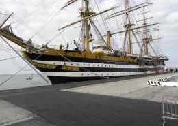 Presentazione nave scuola Amerigo Vespucci