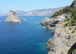 Golfo di Sorrento - Trasporto bagni componibili con elicottero
