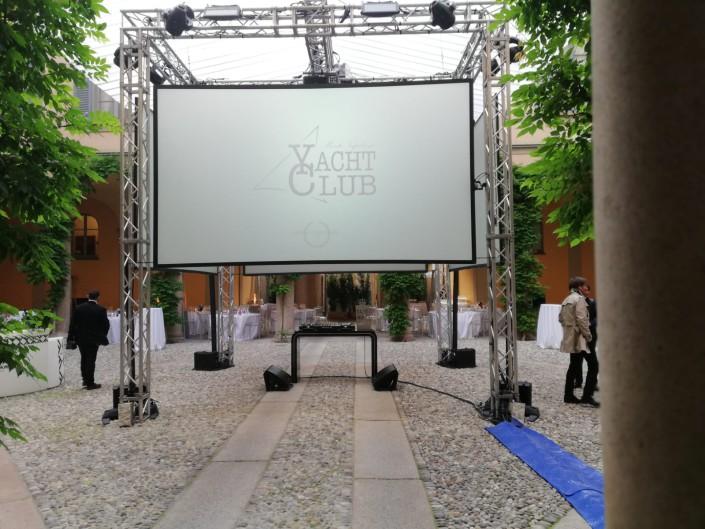 Cena di gala Yacht Club via Montenapoleone