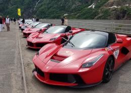 Monte Bianco, Ferrari Cavalcade 2018